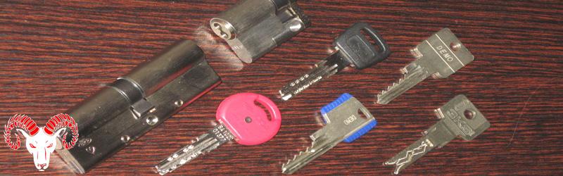 Serratura europea serrature a cilindro europeo per porte - Chiavi di sicurezza ...