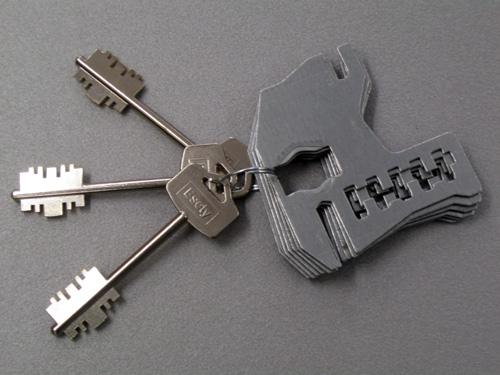 Gorges e chiavi per serrature doppia mappa
