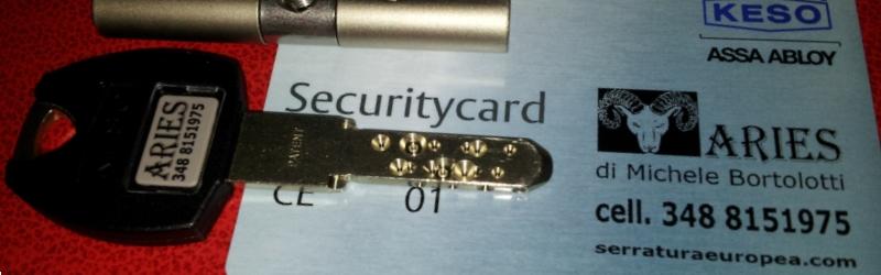 chiavi-di-sicurezza-tessere-di-proprietà-cilindro-europeo