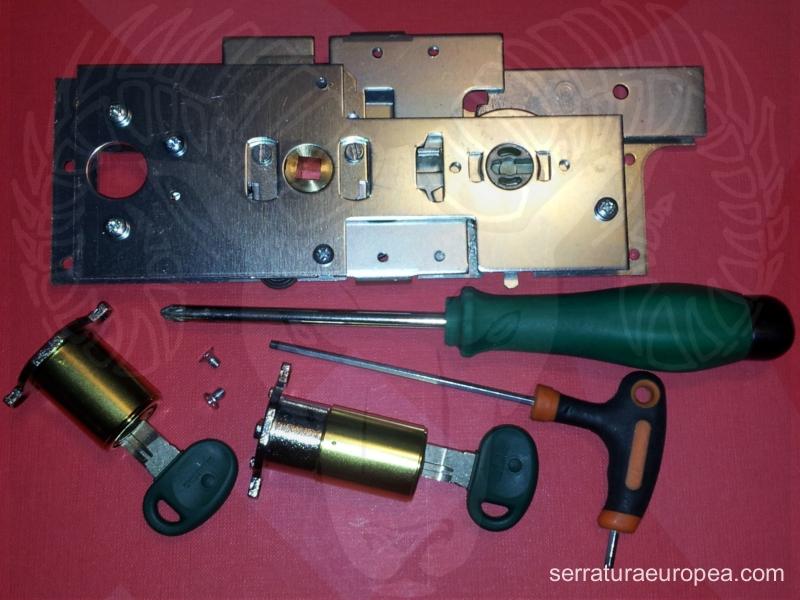 I cilindri compatibili fichet sono sicuri prodotti da for Estrarre chiave rotta da cilindro