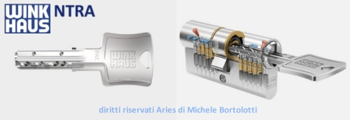 Key tech winkhaus ntra vendita e distribuzione cilindri for Cilindro europeo prezzi