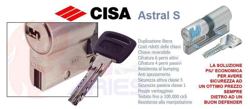Beautiful Cilindro Europeo Media Sicurezza Cisa Astral. «