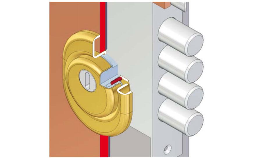 Defender serratura blindata serratura europea serrature for Serratura europea prezzi