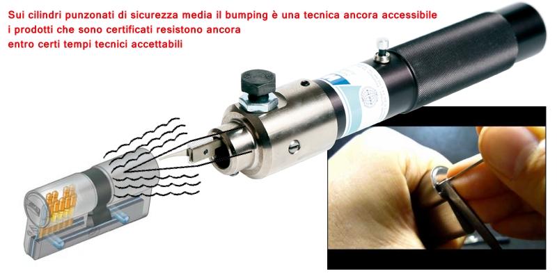 Grimaldello cilindri punzonati serratura europea for Serratura europea prezzi