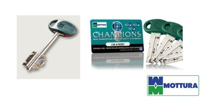Chiavi mottura serratura europea casa sicura cilindri for Cilindro europeo prezzi