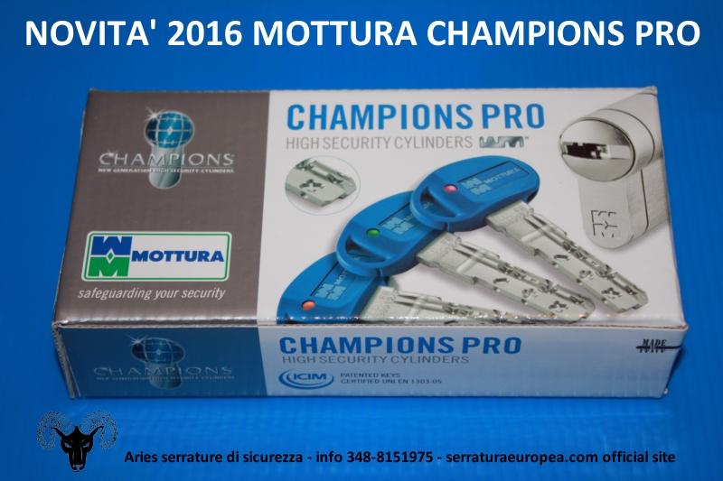 Cilindri mottura champions pro serratura europea for Serratura europea prezzi