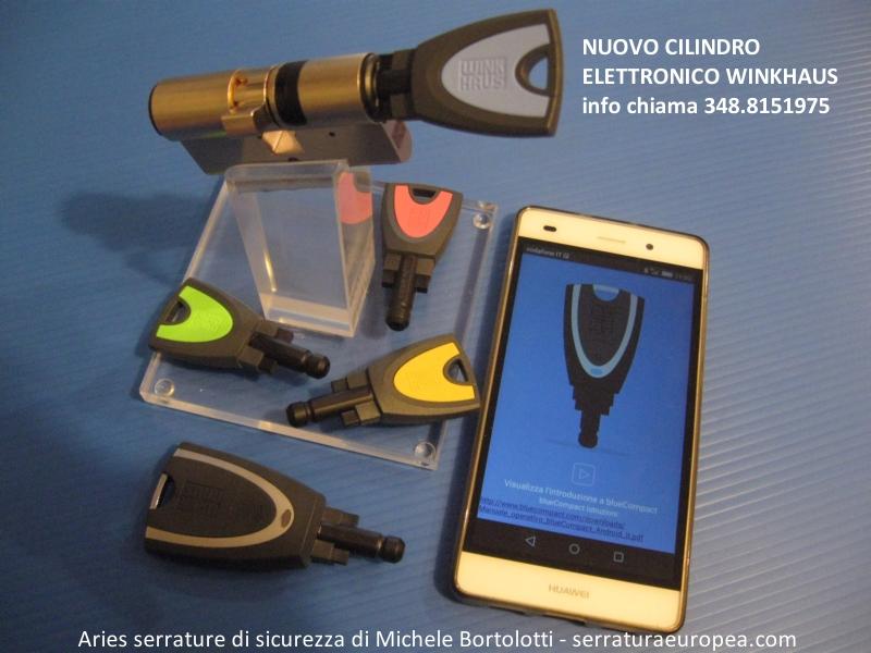 Samartphone chiavi elettroniche apertura serrature for Serrature sicure