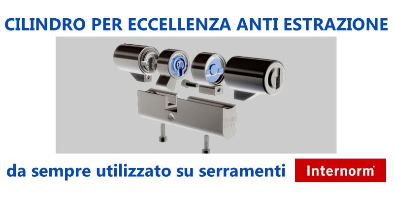 Winkhaus xtra cilindri serramenti internorm serratura for Cilindro europeo prezzi