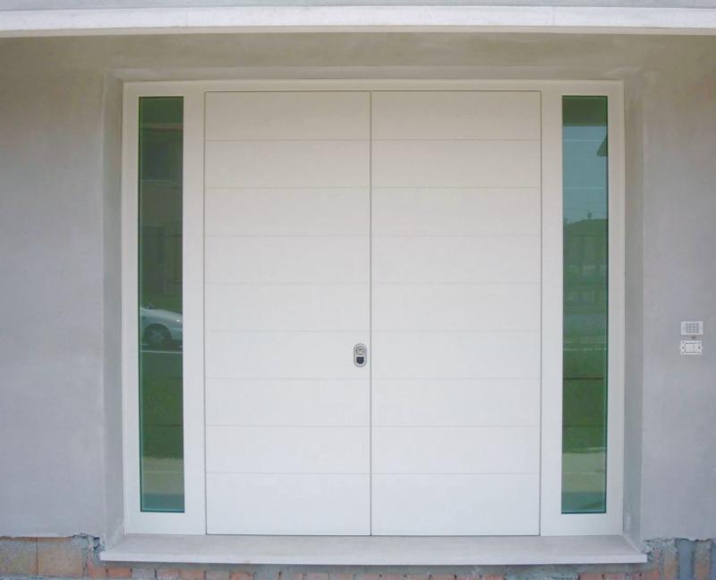Porte blindate sicure vendita installazione in veneto e for Ingresso ville moderne